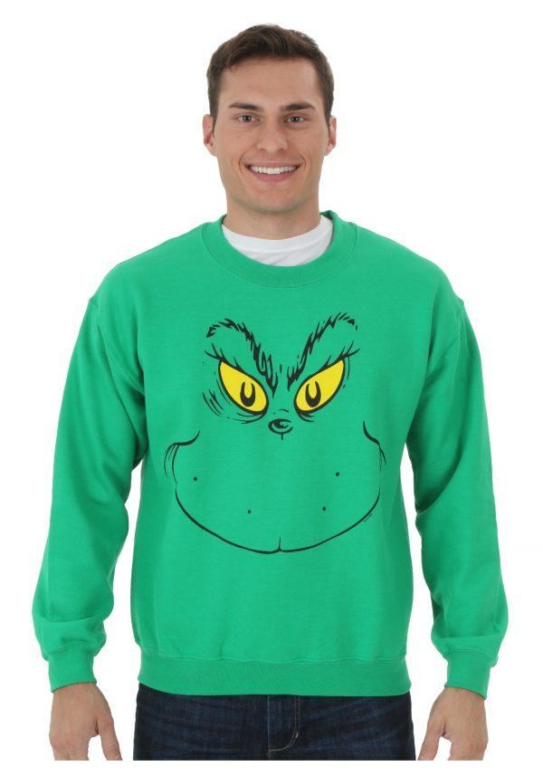 I Am The Grinch Fleece Shirt