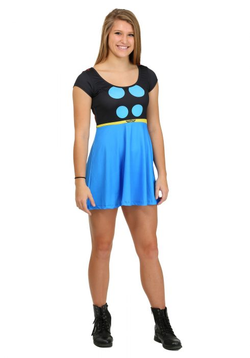I Am Thor Womens Skater Dress
