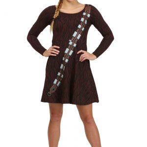 I am Chewbacca Juniors Skater Dress