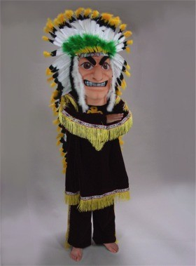 Indian Chief Mascot Costume