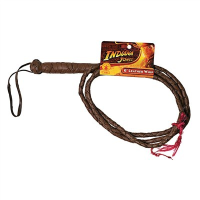 Indiana Jones 6′ Leather Whip