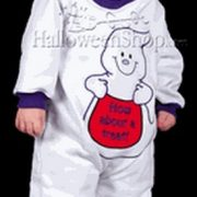 Infant Ghost Jumpsuit Costume