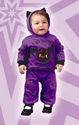 Infant Hooded Bat Costume