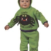 Infant Hooded Spider Costume