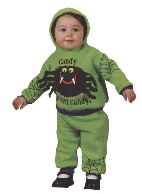 Infant Hooded Spider Costume