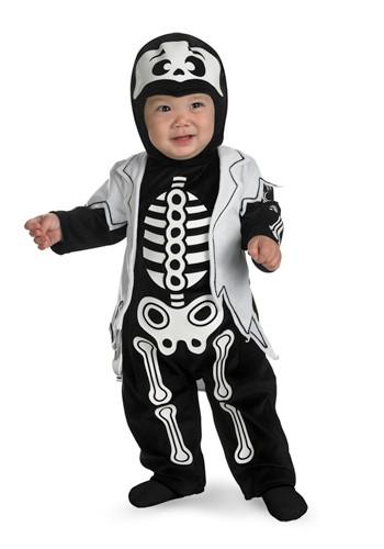 Infant Lil' Bones Skeleton Costume