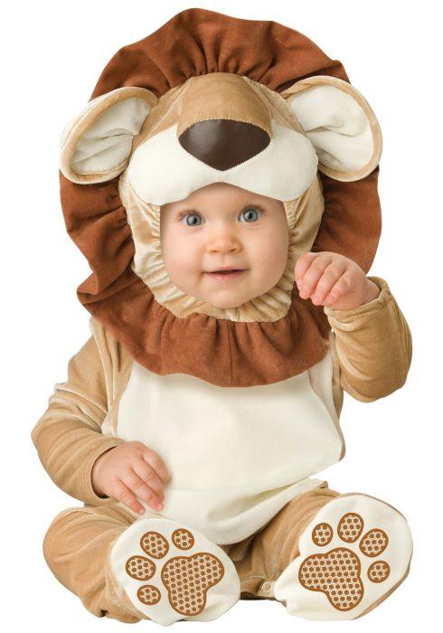 Infant Lovable Lion Costume