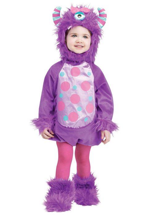 Infant Monster Baby Purple Costume