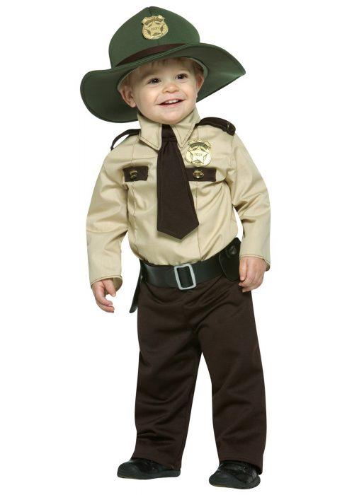 Infant State Trooper Costume