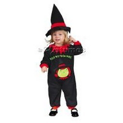 Infant Witch Jumpsuit Costume