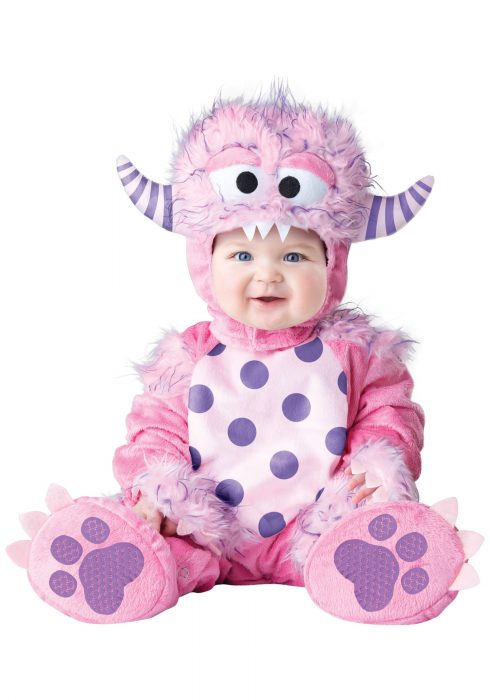 Infant/Toddler Lil Pink Monster Costume
