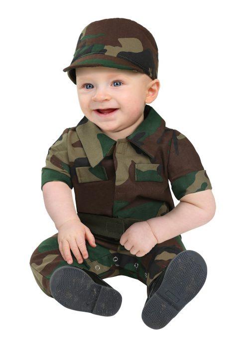 Infantry Soldier Infant Costume