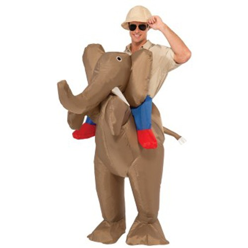 Inflatable Piggyback Elephant Costume