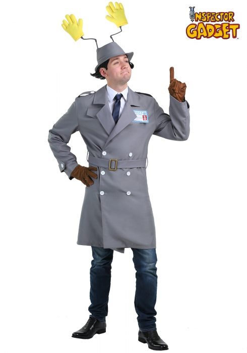 Inspector Gadget Plus Size Men's Costume