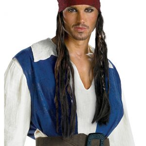 Jack Sparrow Headband Wig