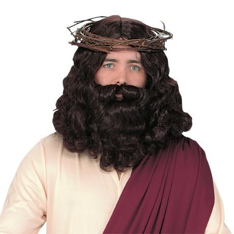 Jesus Wig and Beard Set