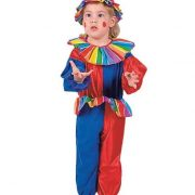 Jolly Clown Toddler Costume