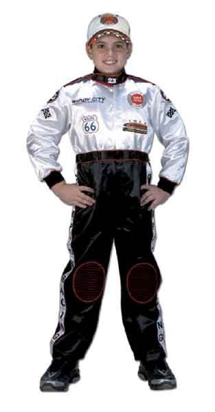 Jr Race Car Driver Racing Costume