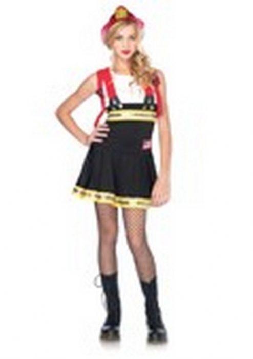 Junior Girl Firefighter Costume