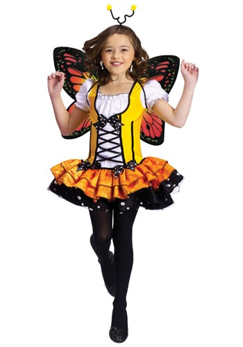 Kid Butterfly Princess Costume