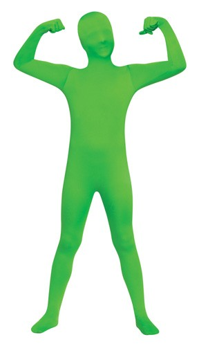 Kids 2nd Skin Costume - Green