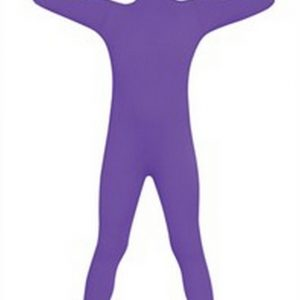 Kids 2nd Skin Costume - Purple
