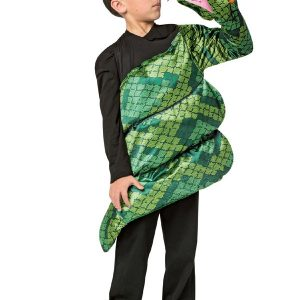 Kids Anaconda Snake Costume 7-10