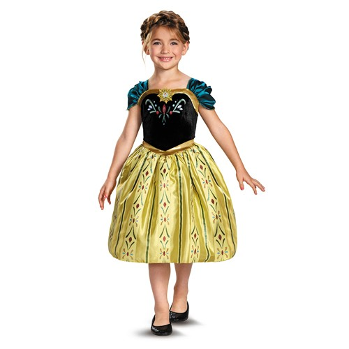 Kids Anna Coronation Gown