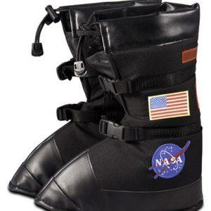 Kids Astronaut Boots - Black