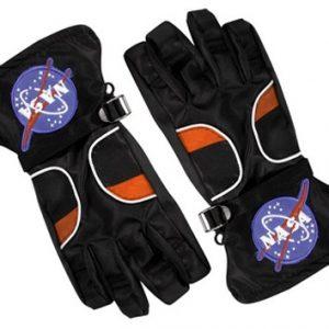 Kids Astronaut Gloves - Black