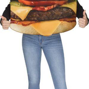 Kids Bacon Cheeseburger Costume