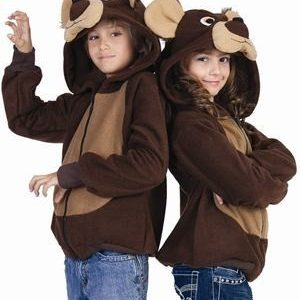 Kids Bailey Bear Hoodie