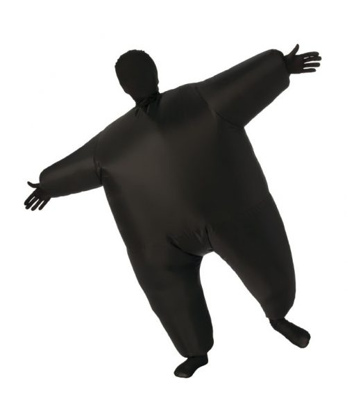 Kids Black Inflatable Costume
