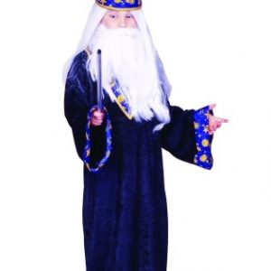 Kids Black Magic Wizard Costume