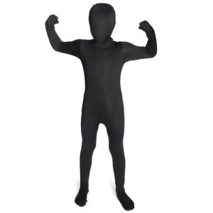 Kids Black Morphsuit