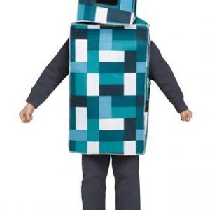 Kids Blue Monster Robot Costume