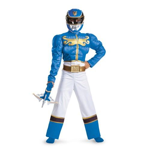 Kids Blue Power Ranger Megaforce Costume