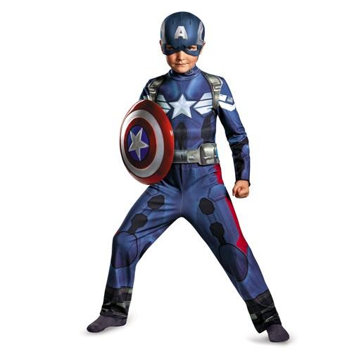 Kids Captain America Movie 2 Costume