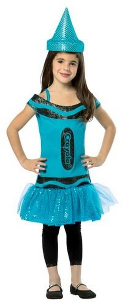 Kids Crayola  Dress - Blue 7-10