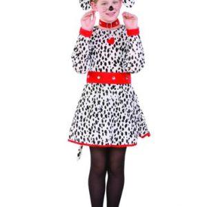 Kids Dalmatian Dress Costume