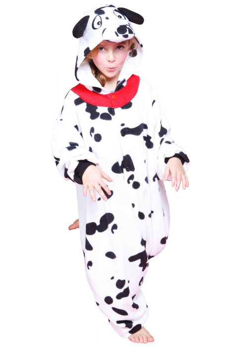 Kids Dalmatian Pajama Costume