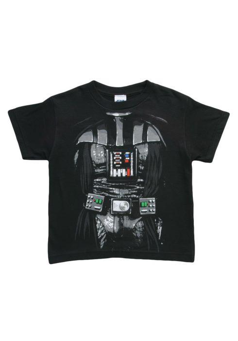 Kids Dark Star Wars Darth Vader Costume T-Shirt