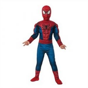 Kids Deluxe Amazing Spiderman 2 Fiber Fill Costume