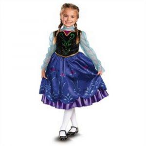 Kids Deluxe Anna Frozen Costume