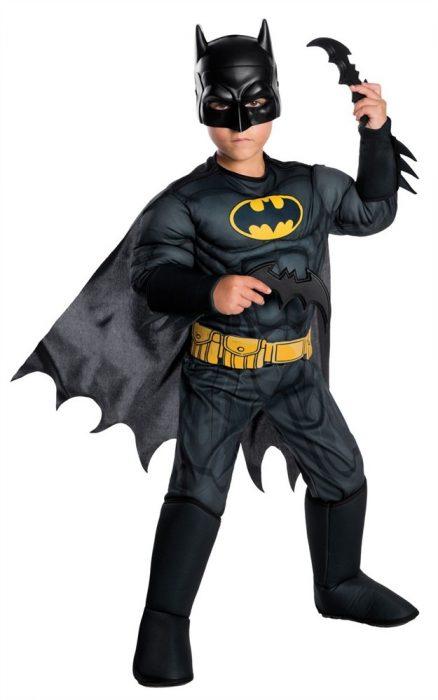 Kids Deluxe Classic Batman Costume
