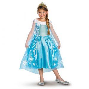 Kids Deluxe Elsa Frozen Costume