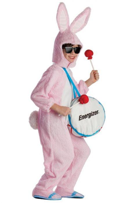 Kids Deluxe Energizer Bunny Costume