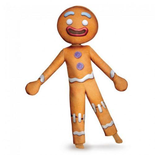 Kids Deluxe Gingerbread Man Costume
