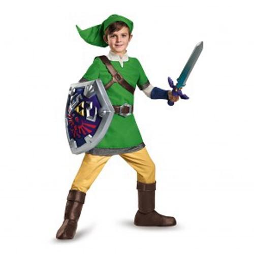 Kids Deluxe Link Costume