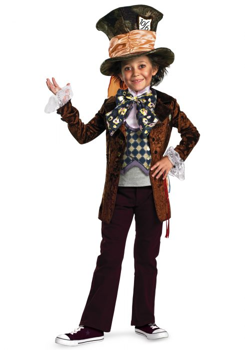 Kids Deluxe Mad Hatter Costume